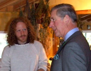 Nathan meets HRH The Prince of Wales
